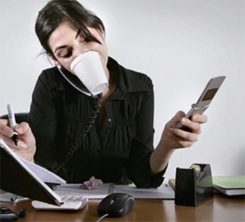 Một lúc làm nhiều việc không giúp hoàn thành việc nào thật trọn vẹn mà chỉ tạo thêm stress. Ảnh: sarahredman.com
