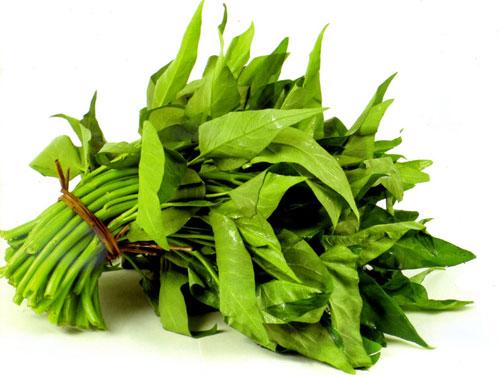 10 lợi ích của rau muống