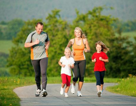 chạy bộ giúp cho bạn có một cơ thể khỏe mạnh