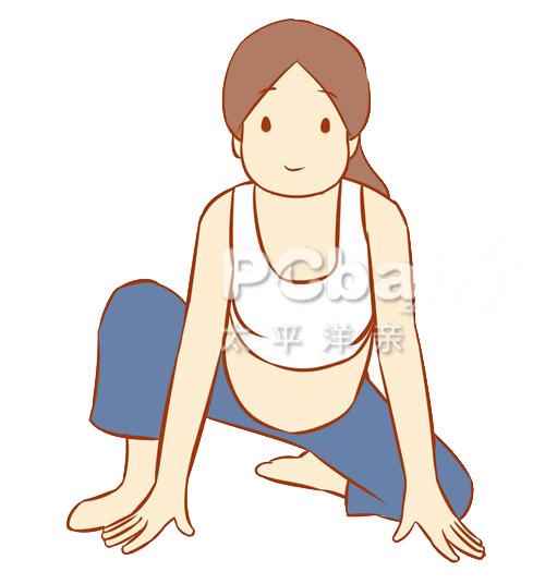 Bài yoga cực dễ cho mẹ bầu khỏe đẹp - 7