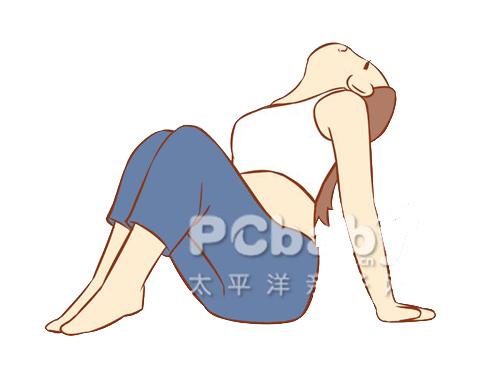 Bài yoga cực dễ cho mẹ bầu khỏe đẹp - 8