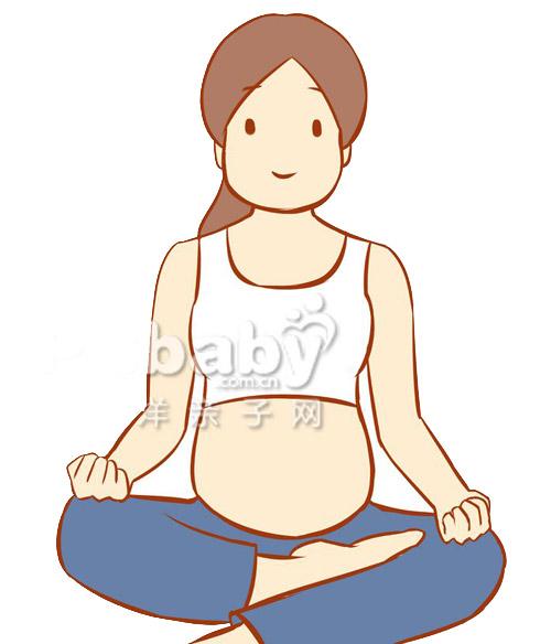 Bài yoga cực dễ cho mẹ bầu khỏe đẹp - 3