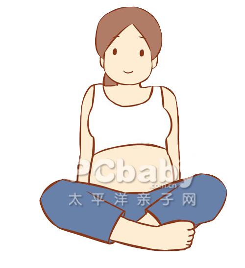 Bài yoga cực dễ cho mẹ bầu khỏe đẹp - 10