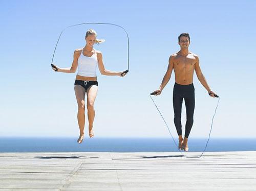 Nhày dây cải thiện chiều cao của cơ thể