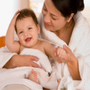 Bí quyết giảm cân cho bà mẹ mới sinh
