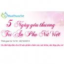 5 Ngày yêu thương - Tri ân Phụ nữ Việt