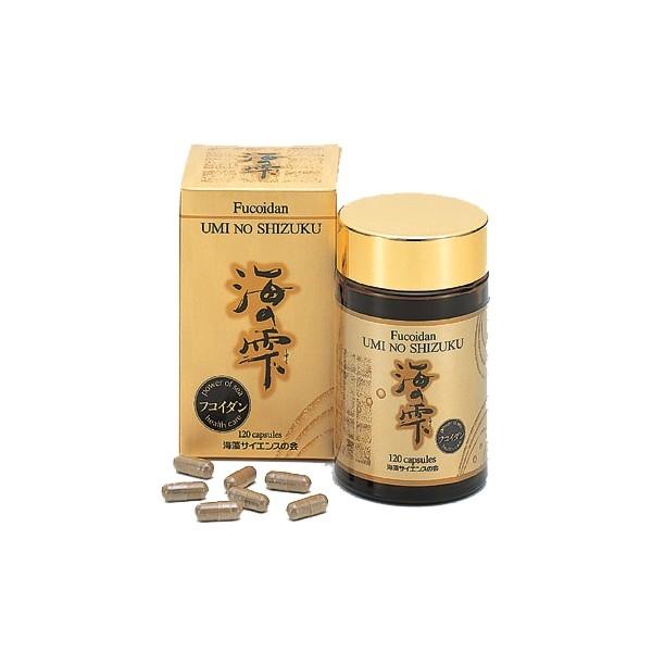 Fucoidan nhật bản umi no shizuku có công dụng gì ? giá bao nhiêu ?