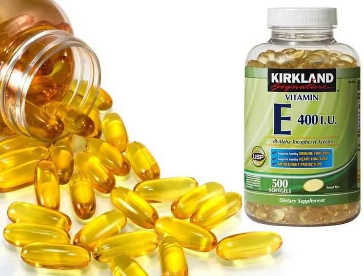 Vitamin e 400 của kirkland giá bao nhiêu ? mua ở đâu ?