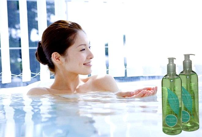 Sữa tắm elizabeth arden green tea có tốt không? giá bao nhiêu ?