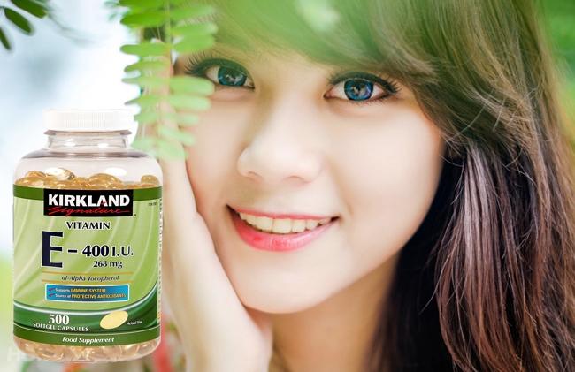 Vitamin e 400 có tác dụng gì cho làm đẹp da chống lão hóa ?