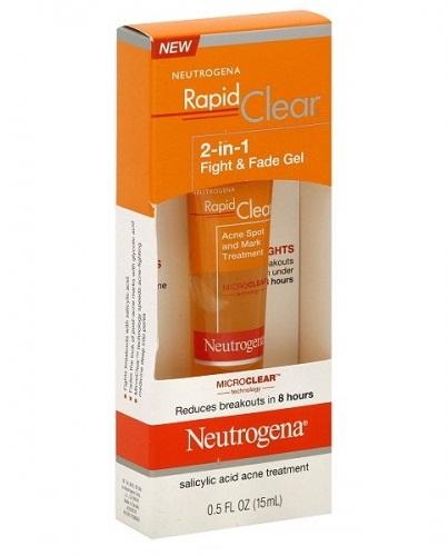 Neutrogena: Kem trị mụn thâm 2 in 1 Rapid Clear 15ml
