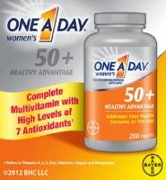 One A Day Women's 50+ Healthy Advantage: Thuốc bổ sung dinh dưỡng cho phụ nữ trên 50 tuổi, 200 viên