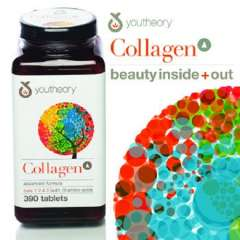 Youtheory Collagen Advanced Type 1,2&3 with 18 amino acid, 390 viên