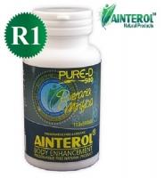 Ainterol Pure-D 500R1: Thuốc bổ sung và tăng cường hooc môn sinh lý nữ, 100 viên.