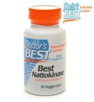 Doctor's Best Nattokinase 90 viên - Viên Uống Bổ Tim Mạch Và Ngăn Ngừa Đột Qụy