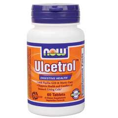 NOW Foods Ulcetrol 60 viên: Viên uống hỗ trợ điều trị bệnh đau dạ dày và niêm mạc dạ dày