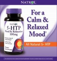 Natrol® 5-HTP Mood Enhancer 150 viên 100 mg: giúp giảm stress, điều hòa cảm xúc, suy nhược và ổn định giấc ngủ