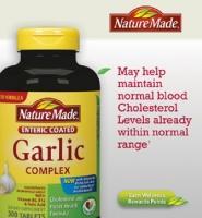 Nature Made Garlic complex - Viên tinh dầu tỏi Giảm Nguy Cơ Ung Thư & Viêm Đại Tràng, 300 viên.
