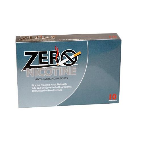 Miếng dán cai thuốc lá Zero Nicotine Patches hiệu quả an toàn , 10 Miếng