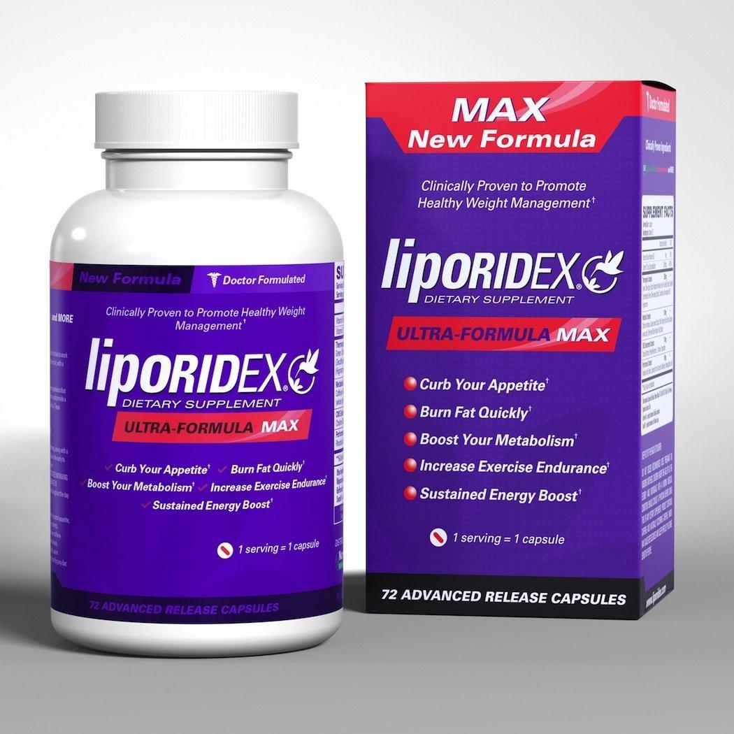 Liporidex® Ultra Formula MAX 72 viên– Viên uống giảm cân đơn giản và hiệu quả