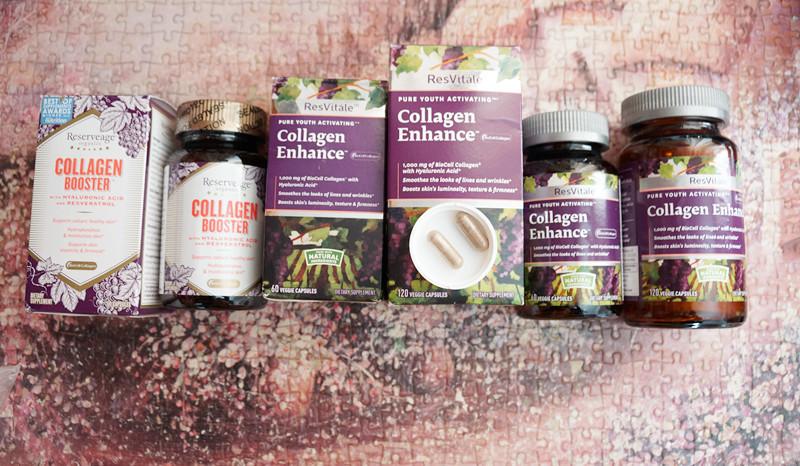 Làm đẹp da với gnc resvitále™ collagen enhance chiết xuất rượu nho pháp
