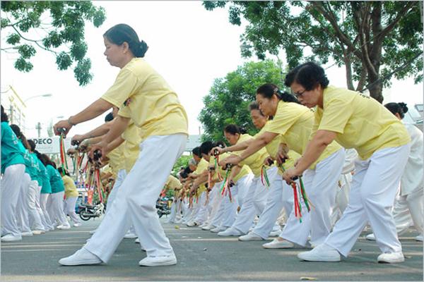 2. luyện tập các bài tập thể dục thông minh