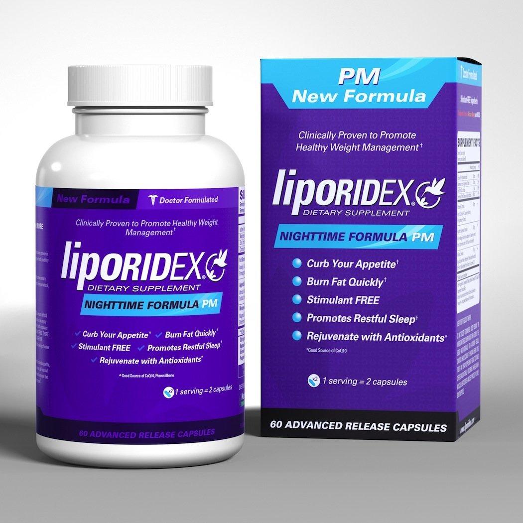Thuốc giảm cân ban đêm - liporidex nighttime formula pm