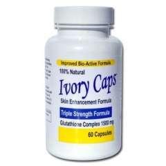 Ivory caps pills – thuốc làm trắng da hoàn toàn tự nhiên