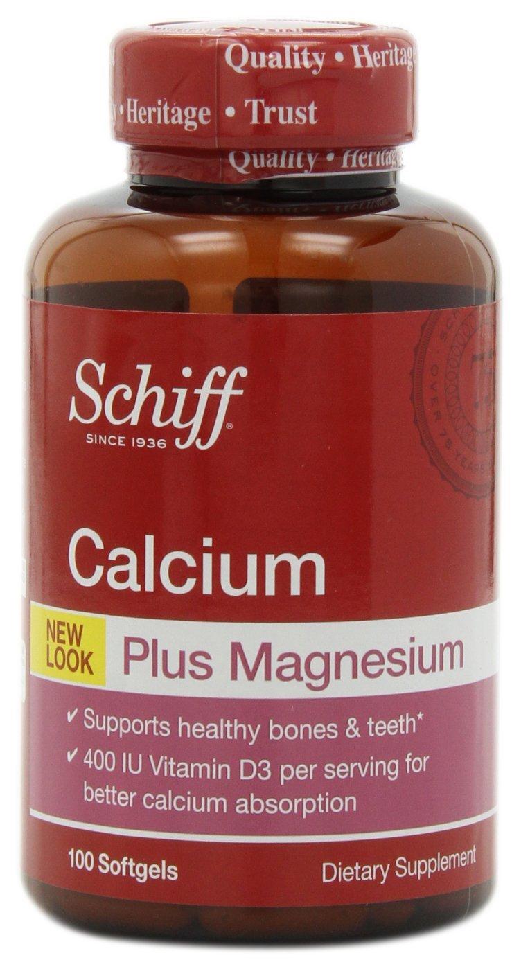 Thuốc duy trì xương chắc khỏe - schiff calcium plus magnesium