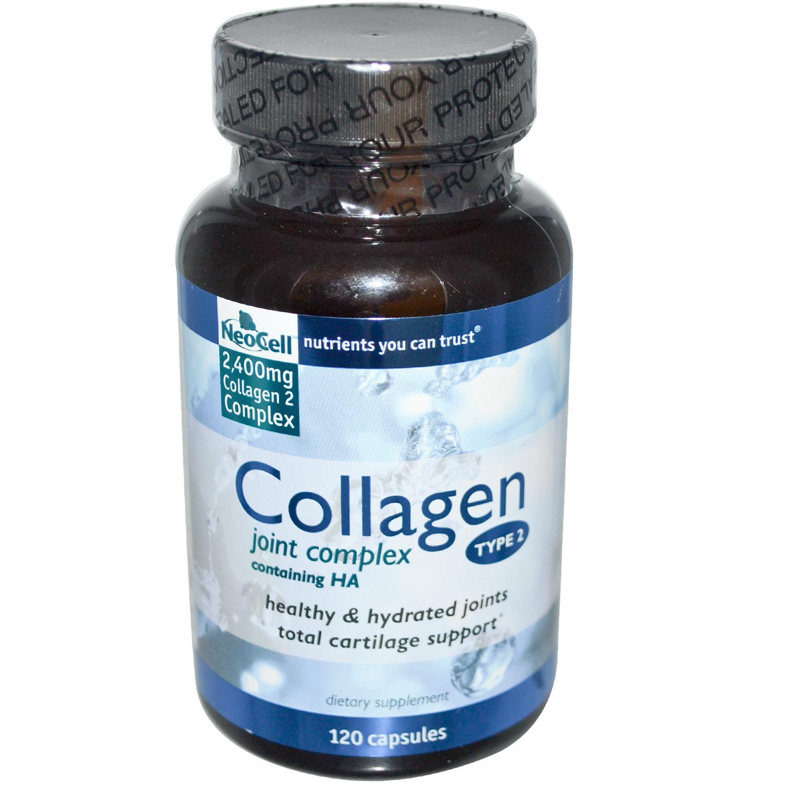 Thuốc hỗ trợ bệnh viêm khớp cấp và mãn tính neocell collagen type 2