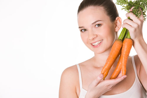 5 loại rau củ giúp sáng mắt