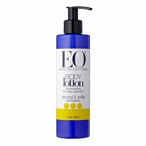 Eo Body Lotion coconut & vanilla with Tangerine, kem dưỡng ẩm giúp da đàn hồi và mịn màng.