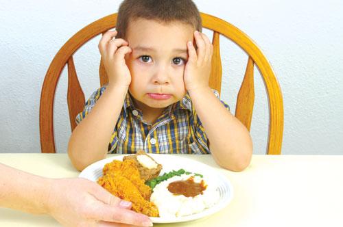 Biếng ăn ở trẻ và những điều cần biết