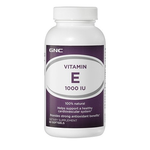 GNC Natural Vitamin E 1000 60 viên