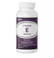 Viên uống bổ sung vitamin E của Mỹ - GNC Natural Vitamin E 1000 60 viên