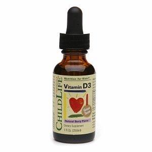 ChildLife vitamin D3 Formula 29.6 ml: Giúp Chống Còi Xương, Phát Triển Chiều Cao ở Trẻ