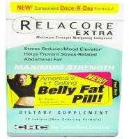 Relacore Extra Maximum Strength Mitigating compound 72 viên- Thuốc giảm sản sinh mỡ vùng bụng và ổn định tinh thần