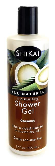 Shikai moisturizing shower gel coconut
