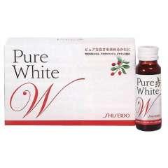 Nước uống Shiseido Pure White dưỡng làn da trắng tinh khiết