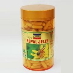 Royal jelly: viên nhộng sữa ong chúa cao cấp với hàm lượng 1450 mg, 365 viên