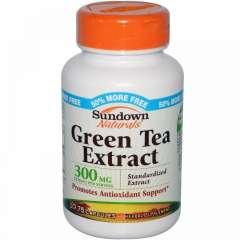 Green Tea Extract 300 mg: Ngăn ngừa ung thư, chống lại quá trình lại hóa 75 viên