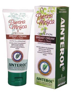 AINTEROL Pueraria Mirifica Breast Cream giúp tăng kích thích vòng một