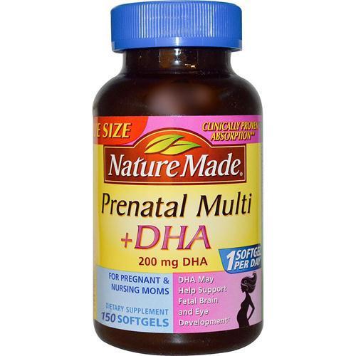 Nature Made Prenatal sản phẩm tốt nhất cho phụ nữ mang thai và cho con bú