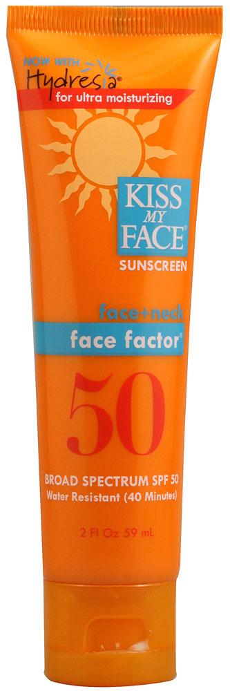 Kiss My Face® Face Factor SPF 50 for Face & Necksản phẩm tối ưu trong bảo vệ, chống nắng tự nhiên