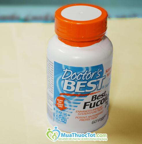 Best Fucoidan 70% hỗ trợ điều trị ung thư hiệu quả