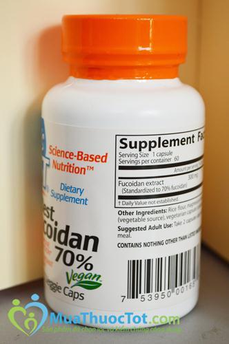 Best Fucoidan 70% chính là thứ bạn đang cần