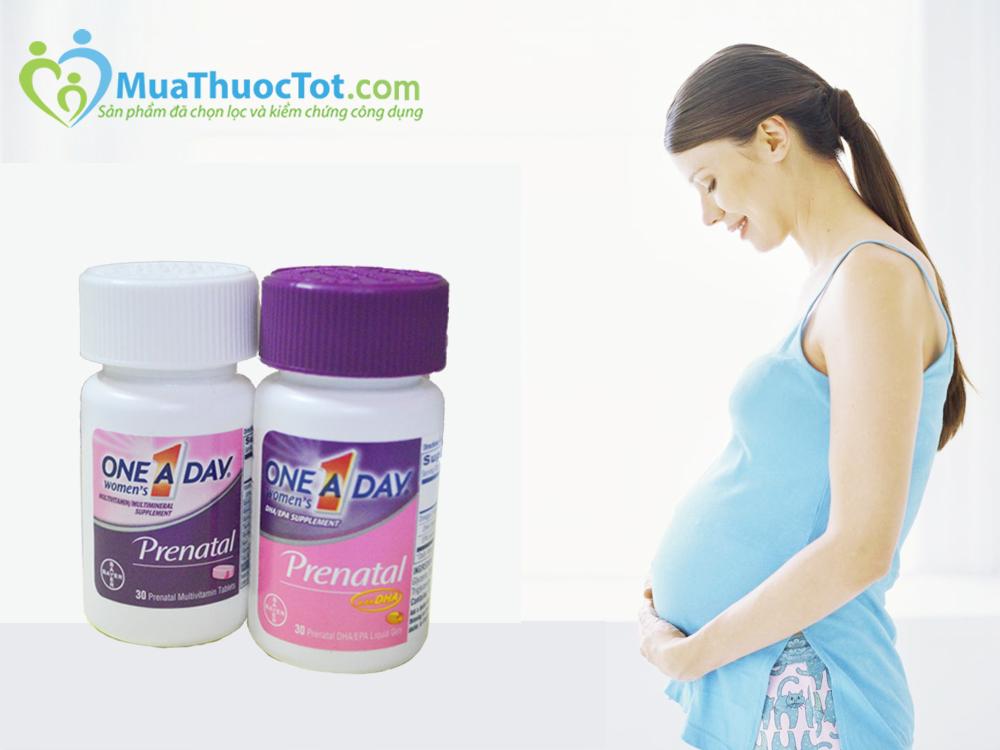 One A Day Women's Prenatal không có tác dụng phụ