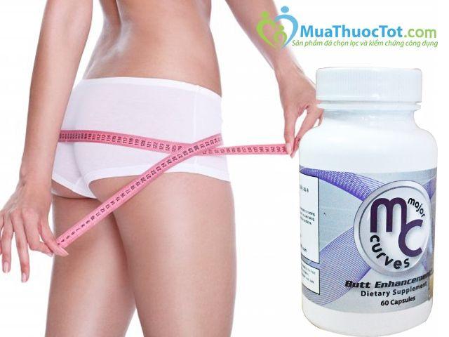 Thuốc nở mông Major Curves