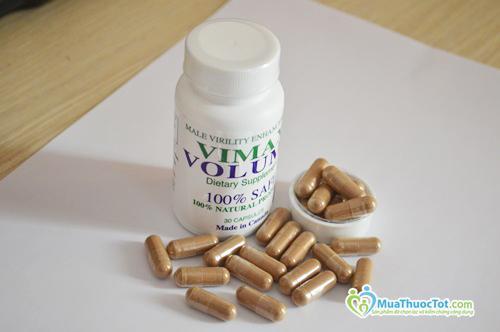 Vimax Volume – Thuốc làm tăng số lượng và chất lượng tinh trùng