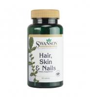 Swanson Hair, Skin & Nails : Chăm sóc tóc, da và móng 60 viên